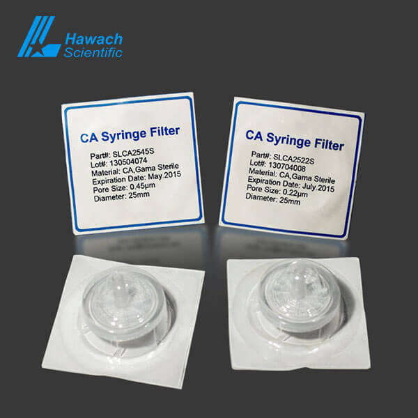 Sterile Cellulose Acetate Syringe Filters