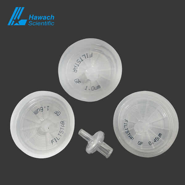 Filtstar Series Glass Fiber Syringe Filters