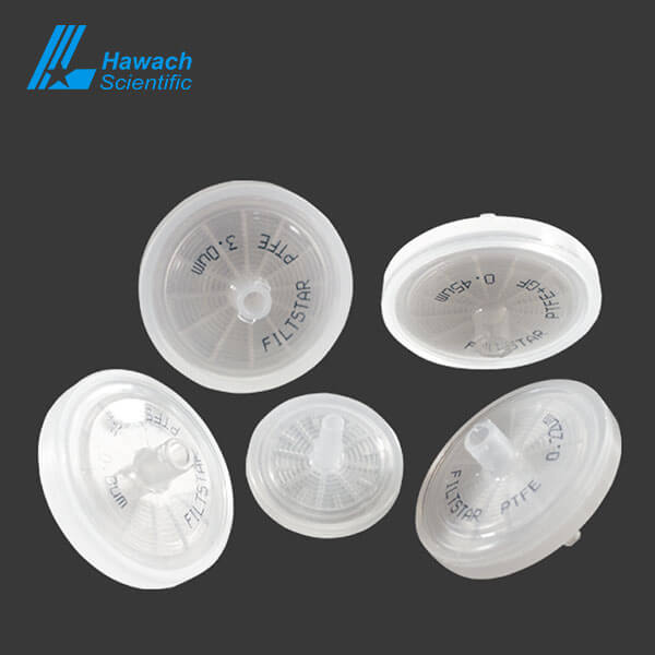 China micro Hydrophobic PTFE syringe filters