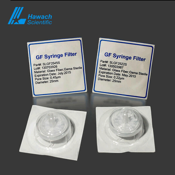 Sterile GF (Glass Fiber) Syringe Filters