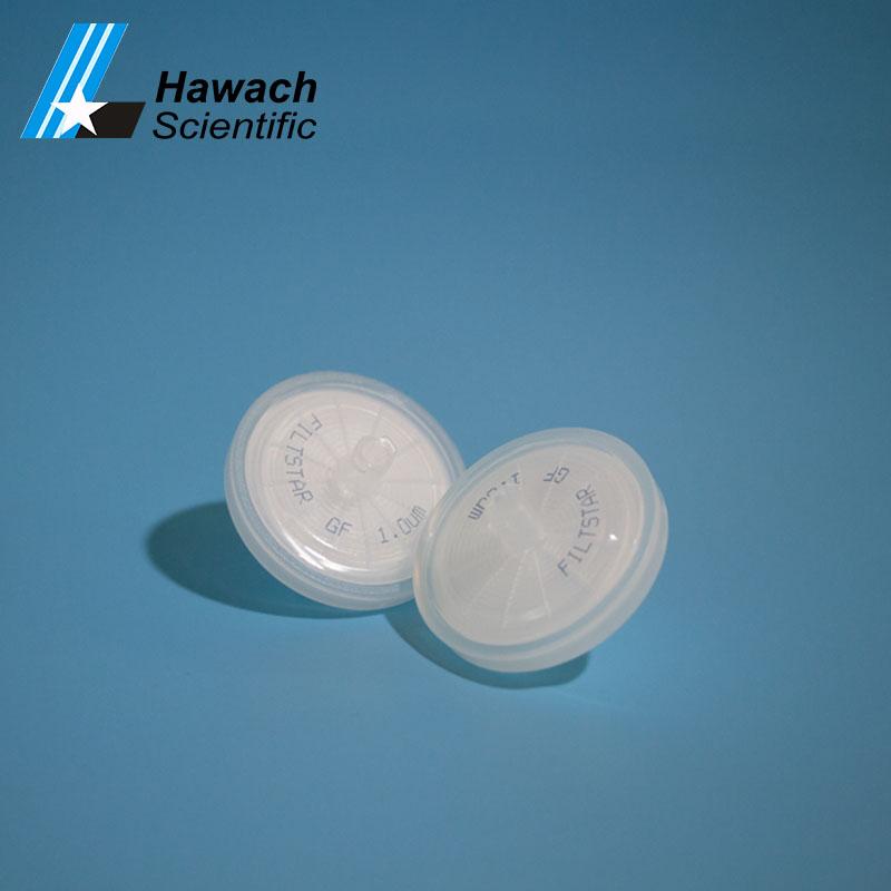 Luer Lock Glass Fiber Syringe Filters