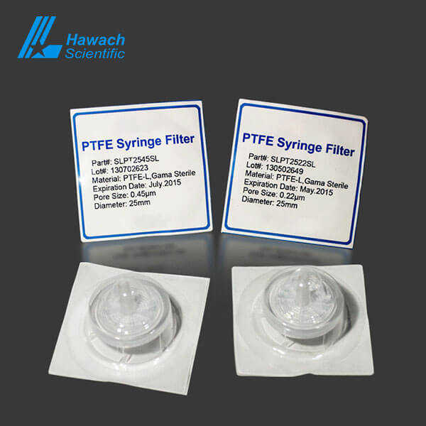 Sterile Hydrophilic PTFE Syringe Filters