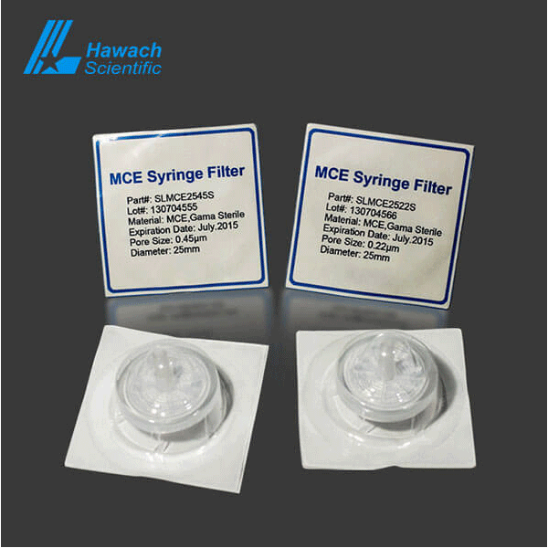 mce sterile syringe filters