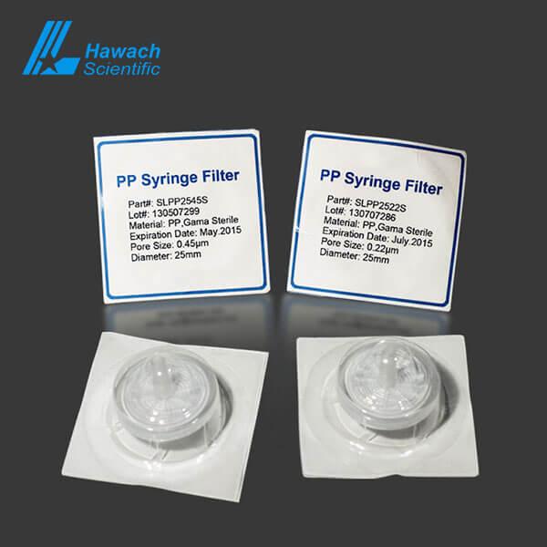 pp sterile syringe filters